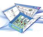 Panel-Designsystem für das 3D-Layout
