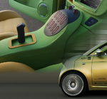 Rafi entwickelt Joystick für Automobilvisionär Rinspeed