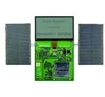 Solarpanels speisen Display-System