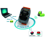 Ethernet-E/A mit IF-THEN-ELSE-Logik