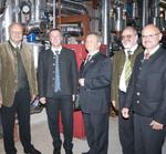 Katek bezieht Wärmeenergie aus Biomasse-Heizwerk