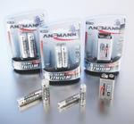 Lithium-Batterie im 2er-Blister