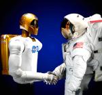 Robonaut und Astronaut...