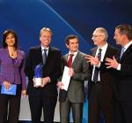 Maybrit Illner, Markus Fischer, Andrzej Grzesiak, Dr. Peter Post, Christian Wulff...