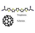 Moleküle der organischen Solarzelle