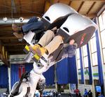 4D-Simulator Robocoaster bei der Ski-WM 2011 in Garmisch Partenkirchen