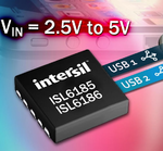 Intersil: USB-Port-Stromversorgungs-Controller