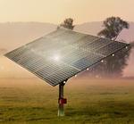 mp-tec: Einachsige Solarpanel-Nachführanlage
