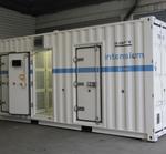 Container-Energiespeichersystem im Megawatt-Bereich