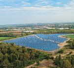 8,5 MW Solarpark Borna am Netz