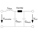 Bild 1: Zweistufiges Ausgangsfilter