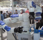 Robotik auf der Automatica 2012