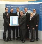 Mikropumpenhersteller HNP Mikrosysteme nach ISO 9001:2008 zertifiziert