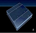 Bild 1: Applikationsspezifische Kühlkörper werden nach einer Simulation und Analyse passgenau gefertigt