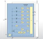 Sieben Sensoren in einem Opto-Gehäuse