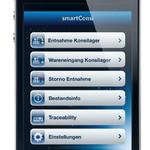 Konsignationslager per Smartphone verwalten