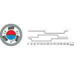 BLDC-Motor mit Hall-Schaltern