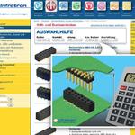 Online-Auswahlhilfe für Stift- und Buchsenleisten