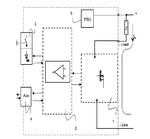 Blockschaltbild eines elektronischen Geräteschutzschalter