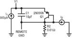 Bild 5: Die bei der Simulation der Masse-Impedanz verwendete Schaltung