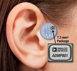 Mini-MEMS-Mikrofon für Hörgeräte