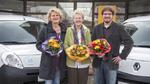 Renault stiftet 17 E-Fahrzeuge an karitative Organisationen