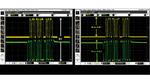 Viele Oszilloskope ermöglichen die Darstellung mehrerer Gitternetze; beim Agilent Infiniium beispielsweise sind es gleichzeitig bis zu 16. Das erleichtert die Skalierung des Kurvenzuges auf ein Format, das den gesamten Dynamikbereich des A/D-Umsetzer