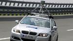 Im Testzentrum Boxberg dreht ein Prototyp für vollautomatisiertes Fahren seine Runden.