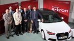 Audi engagiert sich im Projekt e-NUE
