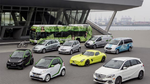 Daimler behauptet Spitze bei Elektro-Pkw