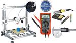 Drucker produziert komplettes Fahrzeugchassis