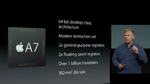A7 ist erster 64-bit-Prozessor in Smartphone