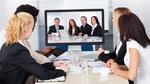 Meetings schwarz auf weiß