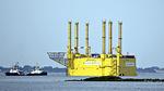 Nordsee-Plattform 'HelWin1' erfolgreich installiert