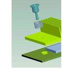 Bild 1: Die neue Befestigungslösung besteht aus drei Teilen: einer selbstzentrierenden Schraube mit Feder, die in einer Einpress- oder oberflächenmontierten Mutter in der Leiterplatte befestigt wird