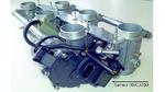 Bild 3: Motorrad-Drosselklappenregelung mit einem Hall-Sensor