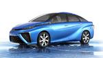 Ein Brennstoffzellenfahrzeug, ein futuristisches Konzept und vieles mehr