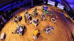 Weltraum-Roboter liefern sich Duell