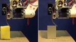 Roboter baut Messwerkzeug aus Heißleim