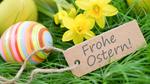 Digitales Osterfest: Frohe Ostern, digitale Ostern, sichere Ostern