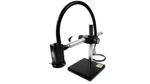 Das digitale Videomikroskop »EasyInspector TD« von TechnoLab (Halle 7, Stand 311) lässt sich künftig noch variabler einsetzen: Der standardmäßig eingestellte Arbeitsabstand von 150 mm lässt sich nun durch optionale Kits auf bis zu 500 mm erhöhen. Dar
