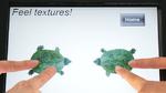 Berührungserlebnis: Objekte auf dem Bildschirm spüren