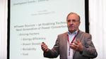 Prof. Dr. Leo Lorenz, Präsident der ECPE und Senior Principal bei Infineon Technologies ging in seiner Keynote-Präsentation vor allem darauf ein, wie die Entwicklung von Leistungshalbleitern zukünftige Systemdesigns beeinflussen wird.