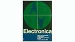 Plakat zur electronica 1964