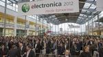 Der Besucherandrang auf der electronica 2012