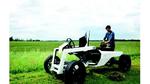 Elektro-Leichtbaufahrzeug trägt dreifaches Eigengewicht