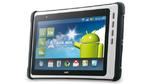 Tablet-Computer für den Industrie-Einsatz