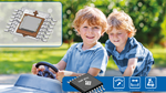 Ultraflache Dual-Die-Linear-Hall-Sensoren