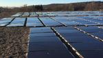 Bodenliegende PV-Anlage spart Kosten