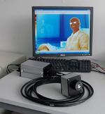 Die IR-Kamera PYROVIEW 640L-PMF kommt unter anderem am Max-Planck-Institut für Plasmaphysik zum Einsatz. Dort misst sie die Temperaturen an den Divertor-Prallplatten einer nach dem Stellarator-Prinzip arbeitenden Fusionsanlage.